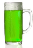 Green Beer mug Stock Image