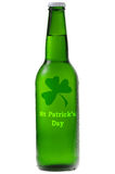 Green beer for St Patrick's Day Royalty Free Stock Photo