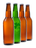 Green beer for St Patrick's Day Royalty Free Stock Images