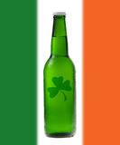 Green beer for St Patrick's Day Stock Photo