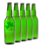 Green beer for St Patrick's Day Stock Images