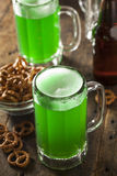 Green Beer for St. Patrick's Day Royalty Free Stock Image