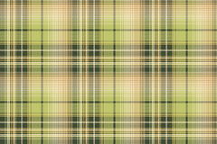 Green beige pixel check fabric texture seamless pattern. Vector illustration Royalty Free Stock Photo