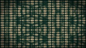 Green, beige, red colors a pattern of gauze checkered. Stock Photography
