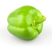 Green bell pepper Stock Photos
