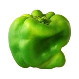 Green bell pepper Stock Photos