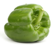 Green bell pepper royalty free stock photography