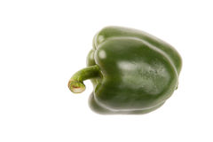 Green bell pepper Royalty Free Stock Photo