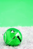Green bell sparkle Royalty Free Stock Photography
