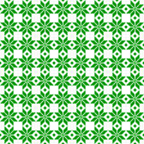 Green Belorussian sacred ethnic ornament, seamless pattern. Vector illustration. Slovenian Traditional Pattern Ornament. Belorussian sacred ethnic ornament Royalty Free Stock Photos