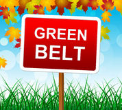 Green Belt Means Picturesque Country And Scene Stock Photo