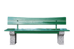 Green Bench Royalty Free Stock Photo