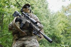 Green Berets sniper Stock Photography