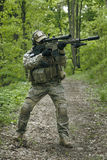 Green Berets sniper Royalty Free Stock Images