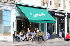 Green Berry Cafe, Primrose Hill Royalty Free Stock Photography