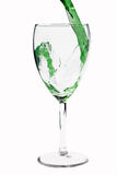 Green beverage Stock Photography