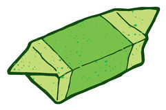 Green big candy Stock Image