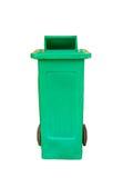 Green big plastic bin Stock Photos