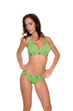 Green Bikini Royalty Free Stock Photos