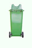 Green bin Royalty Free Stock Photos