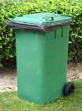 Green bin Royalty Free Stock Images
