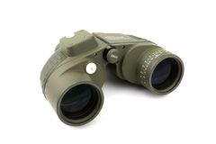Green binocular Royalty Free Stock Images