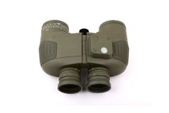 Green binocular Stock Photo