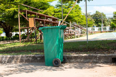 Green bins , Recycling Stock Images