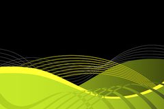 Green and Black Abstract Background Stock Photos