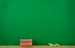 Green black-board Royalty Free Stock Photo