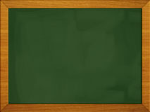 Green- black board school blackboard (2 of 3) Stock Images