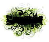 Green and black border Stock Photos