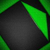 Green and black carbon fiber background. Green carbon fiber background. 3d illustration material design. racing style vector illustration
