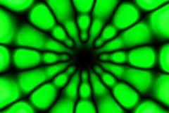 Multicolored radial circle dark pattern. Green and black circle radial pattern stock photos
