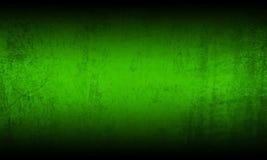 Green black grunge background Stock Image