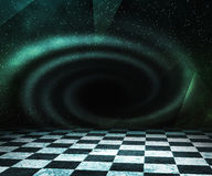 Black Hole Abstract Stage Background Stock Photography