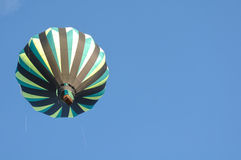 Green and Black Hot Air Balloon Royalty Free Stock Image