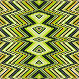 Green black and orange circles grunge effect vector illustration Royalty Free Stock Image