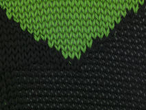 Green black sweater, combining background Royalty Free Stock Photos