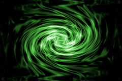 Green and Black Swirled Stock Photos