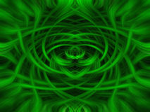 Green and black twirl background Stock Image
