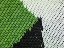 Green black and white sweater, combining background Royalty Free Stock Images