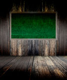 Green blackboard Stock Photography