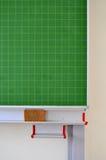Green blackboard in a school Stock Image