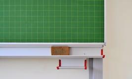 Green blackboard in a school Royalty Free Stock Image