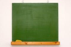 Green blank chalkboard Stock Image