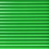 Green blinder. Modern green light blinder close up background Stock Image