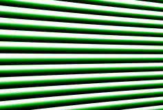 Green blinds royalty free stock photos