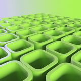 Green blocks Royalty Free Stock Photography