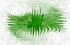 Green blot background Royalty Free Stock Photos